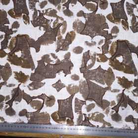 Gardams printed linen