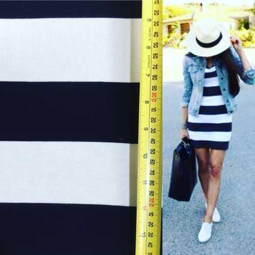 B white knit and dress 1