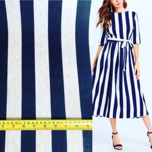 M1 line stripe and dress navy1