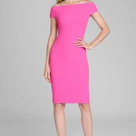 M1 neon pink dress 220120 1