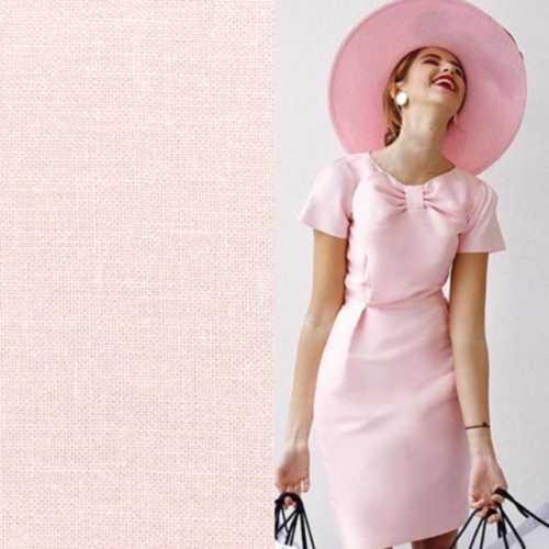 linda pink dress and hat